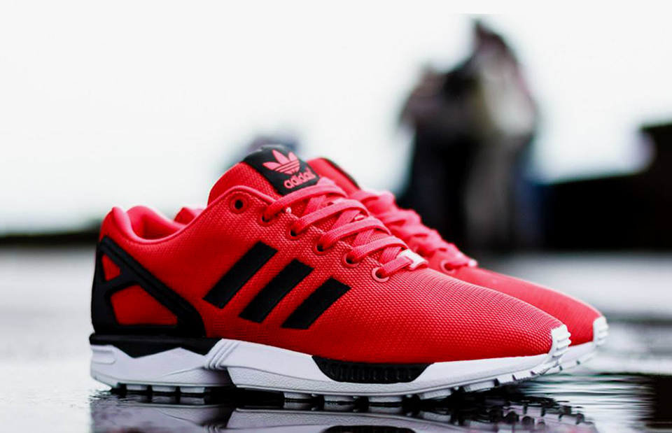 adidas zx flux red