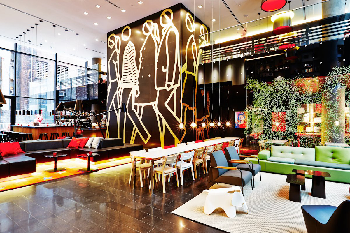 Citizenm times square hotel hypebeast for Top design hotels in new york