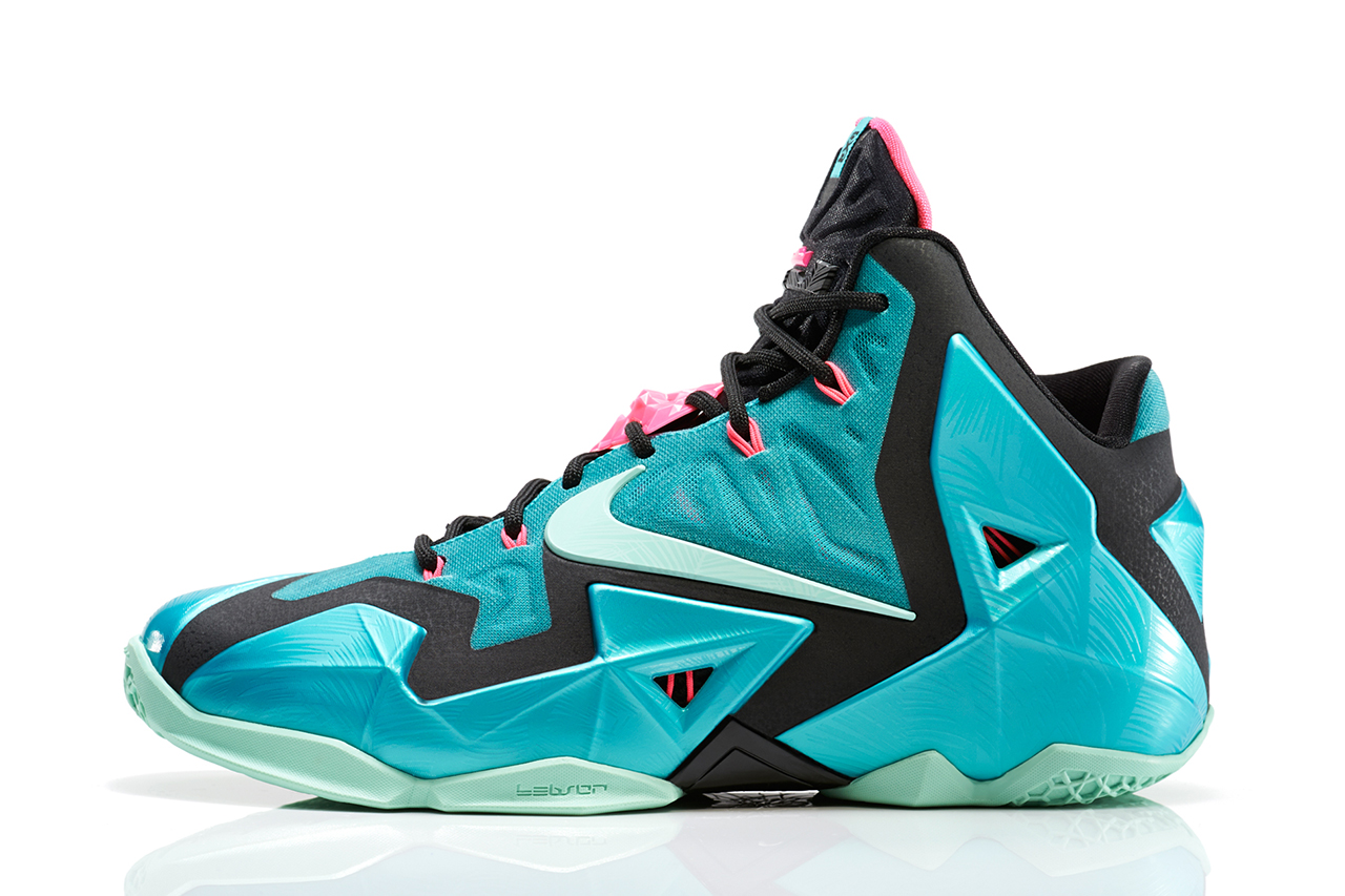 "Nike LeBron 11 ""South Beach"" 