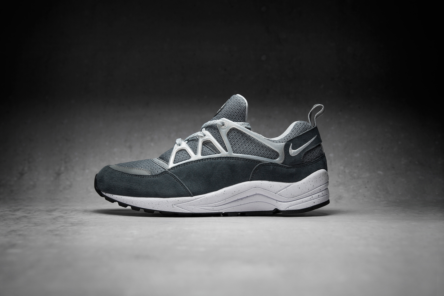 footpatrol x nike air huarache light concrete hypebeast. Black Bedroom Furniture Sets. Home Design Ideas