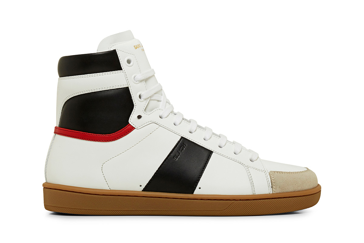 saint laurent 2014 fall winter gum sole sneakers hypebeast. Black Bedroom Furniture Sets. Home Design Ideas