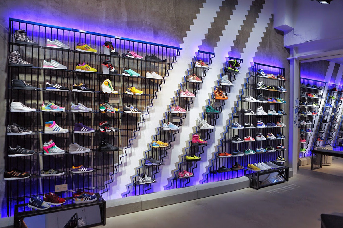 adidas shoes store in london