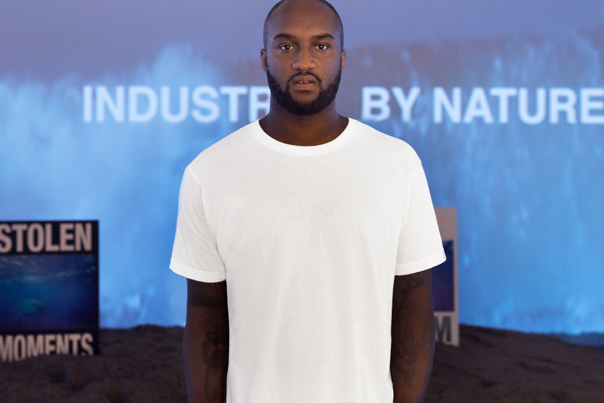 off white c o virgil abloh exhibit ciff hypebeast. Black Bedroom Furniture Sets. Home Design Ideas