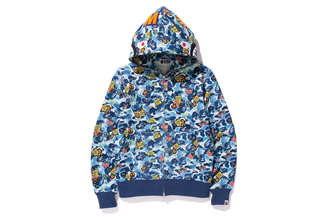 Spongebob Squarepants X A Bathing Ape 2014 Capsule