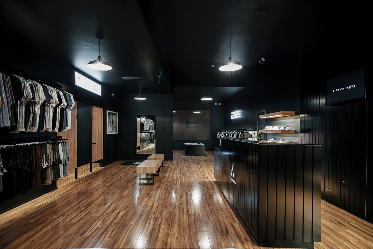 a look inside i love ugly 39 s los angeles store hypebeast. Black Bedroom Furniture Sets. Home Design Ideas