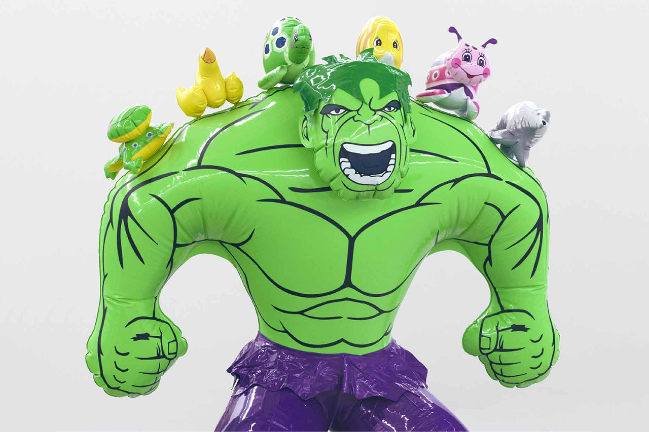 "Jeff Koons ""Hulk Elvis"" Exhibition at Gagosian Gallery ..."