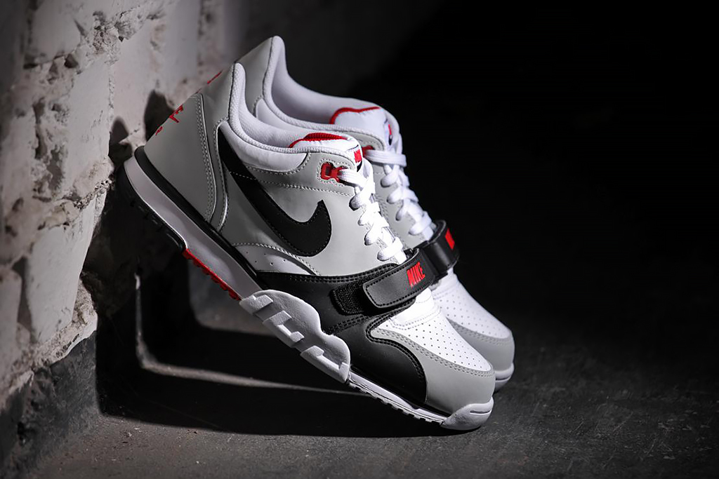 nike air trainer 1 low white black red hypebeast. Black Bedroom Furniture Sets. Home Design Ideas