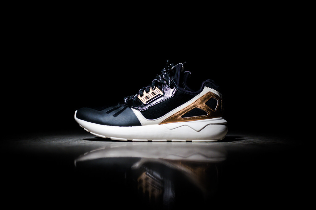 bf179085d4ac ... adidas Originals Tubular Runner Years Eve Black White Mat Copper ...