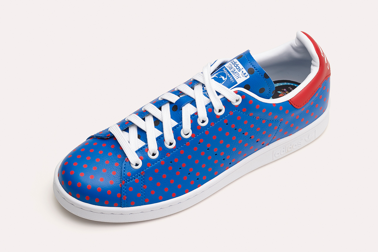 pharrell williams adidas originals finish off 2014 with two polka dot packs hypebeast. Black Bedroom Furniture Sets. Home Design Ideas