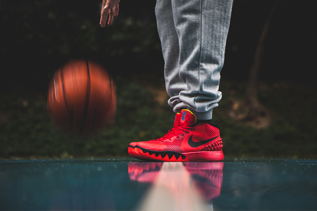 Australia Nike Kyrie 1 - 2015 1 A Closer Look At The Nike Kyrie 1 Deceptive Red