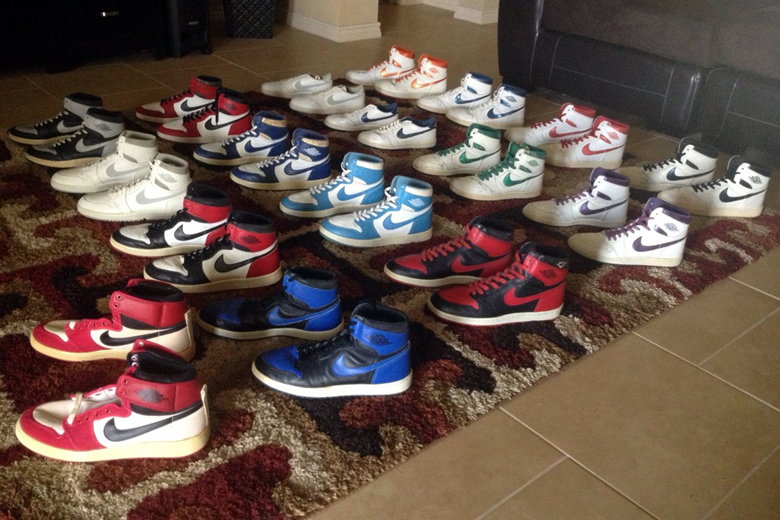 A Collection Of Original Air Jordan 1s From 1985 Is Up For