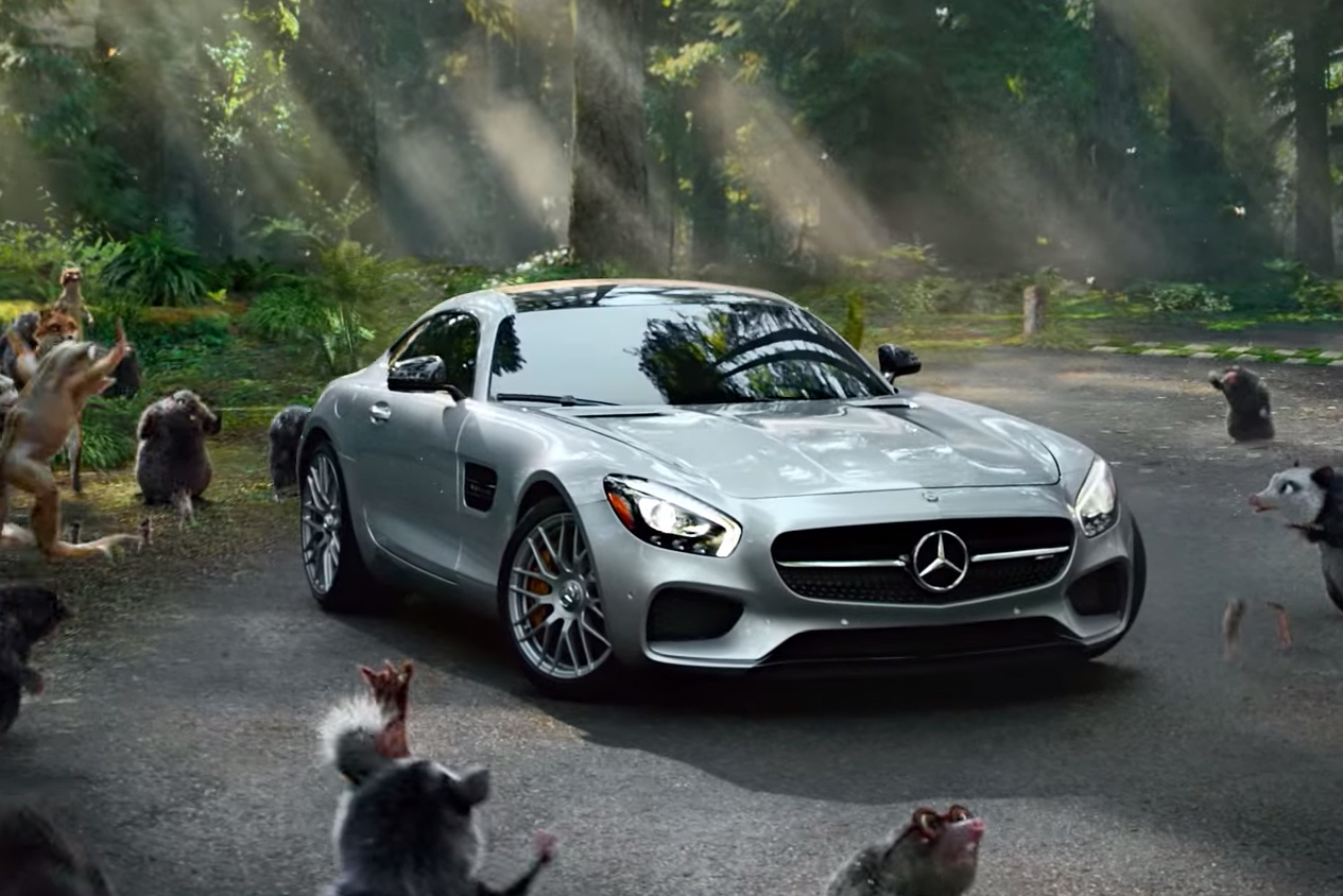 2016 mercedes benz amg gt s fable commercial hypebeast for Mercedes benz commercial