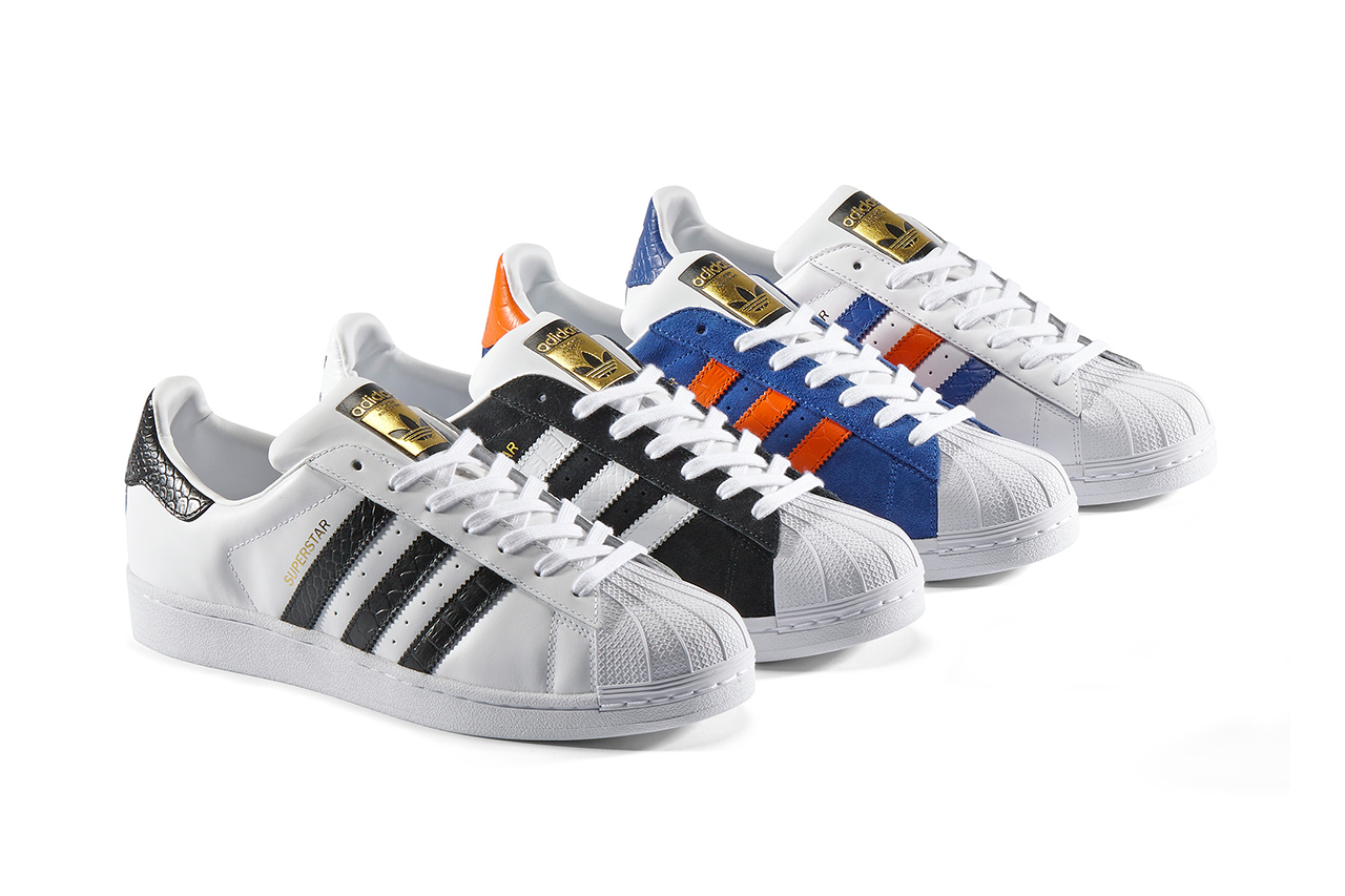adidas originals superstar east river rivalry pack hypebeast. Black Bedroom Furniture Sets. Home Design Ideas