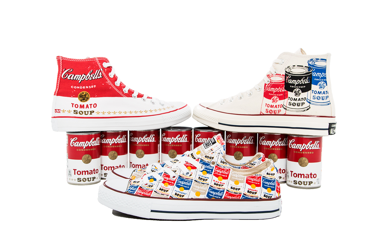 Andy Warhol Converse Shoes Painting