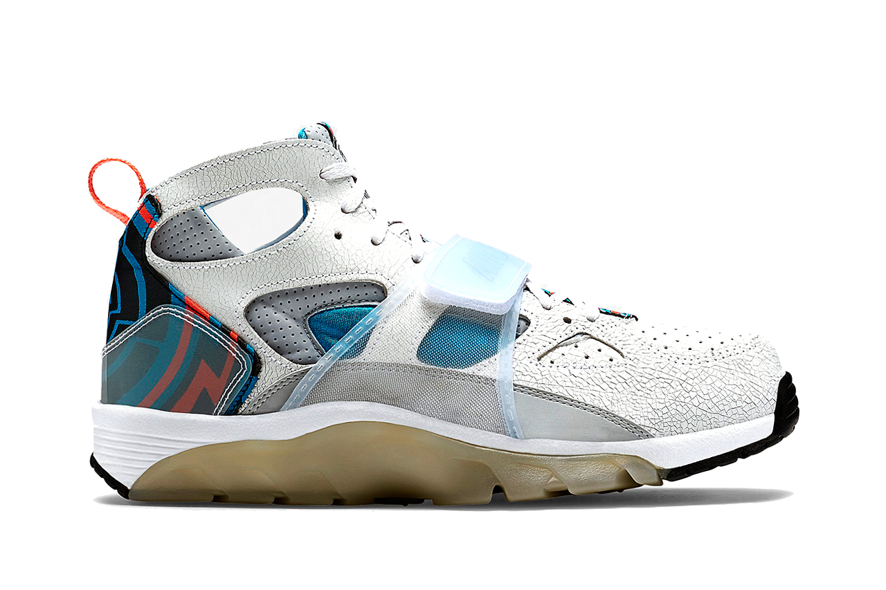 nike air trainer huarache prm qs super bowl hypebeast. Black Bedroom Furniture Sets. Home Design Ideas