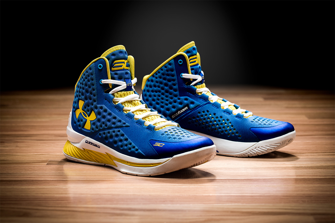 Under Armour Introduces Stephen Curry's First Signature ...