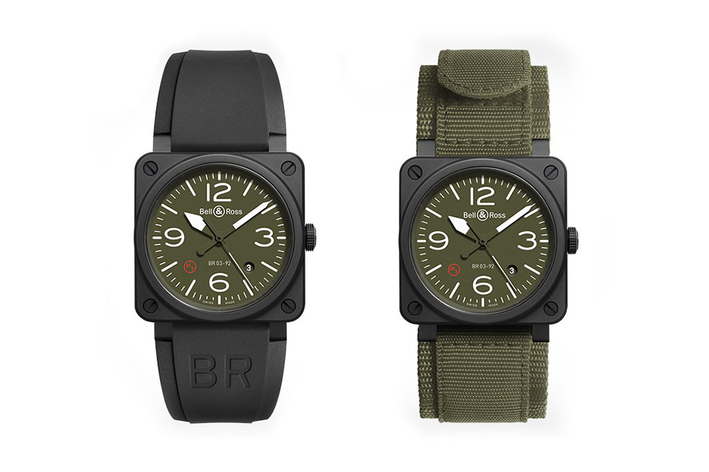 Bell Amp Ross Br03 Military Watch Hypebeast