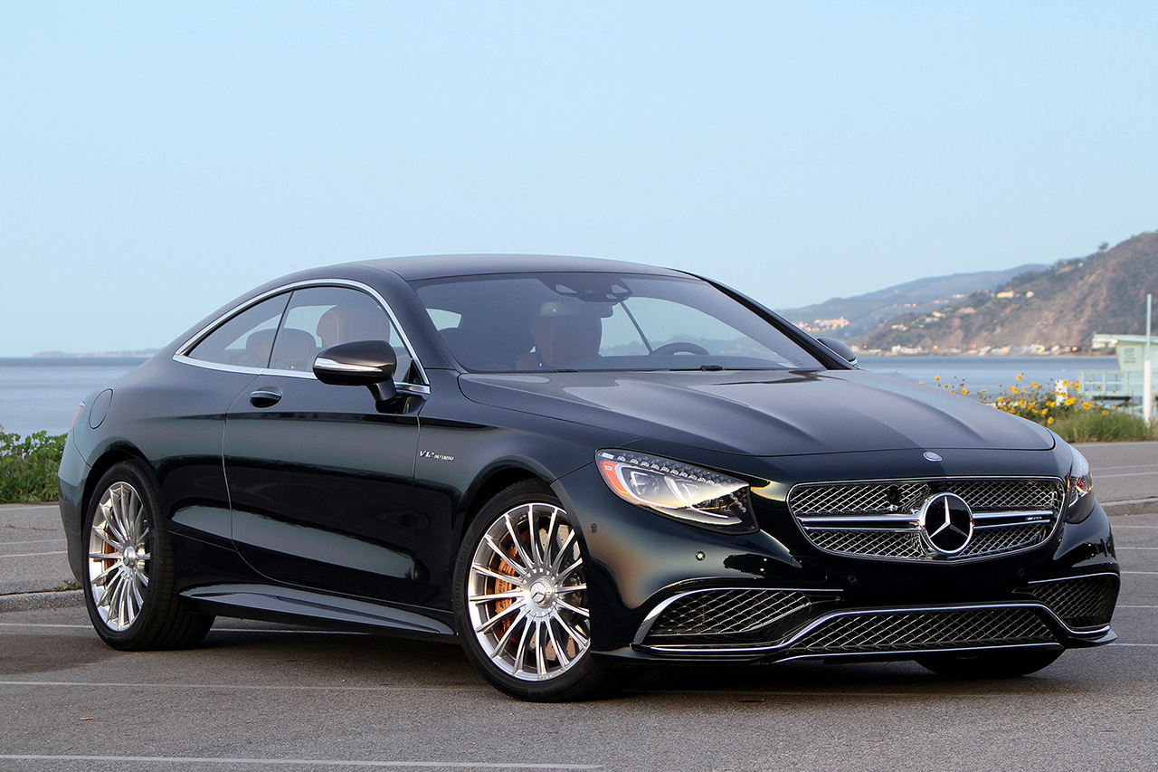A closer look at the 2015 mercedes benz s65 amg coupe for Mercedes benz cl65 amg coupe