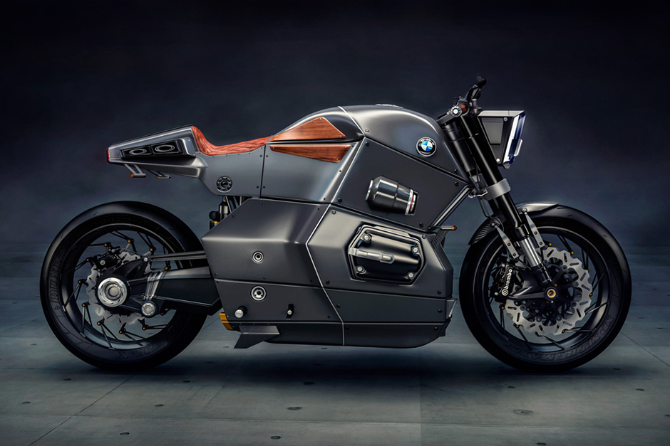 BMW Urban Racer Concept Motorcycle | HYPEBEAST