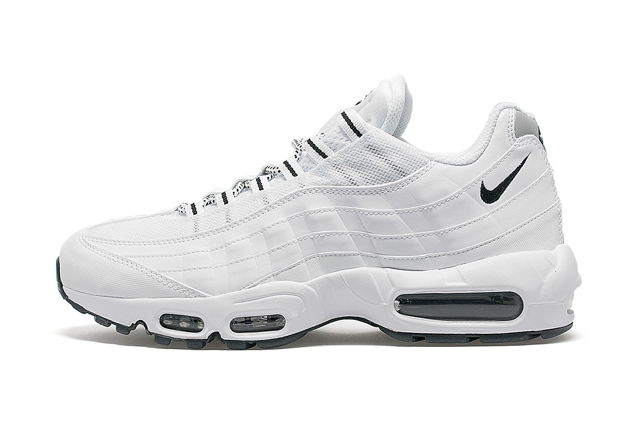 nike air max 95 all white