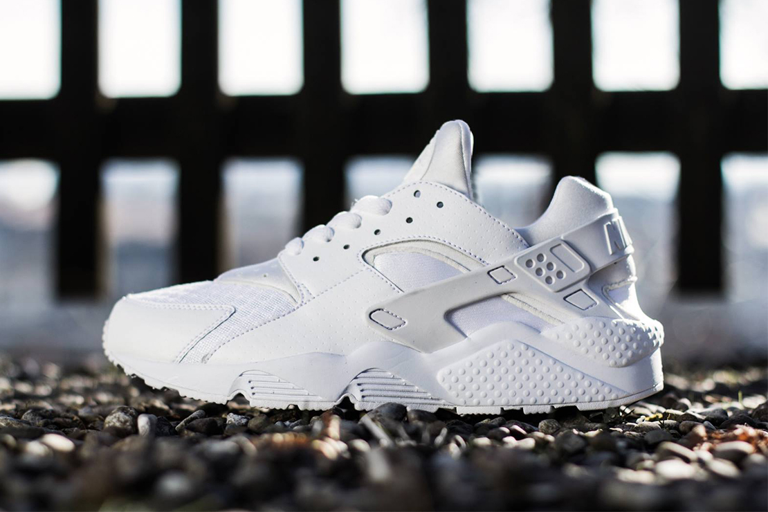 2015 4 Nike Air Huarache Whitepure Platinum Nike Air Huarache All White