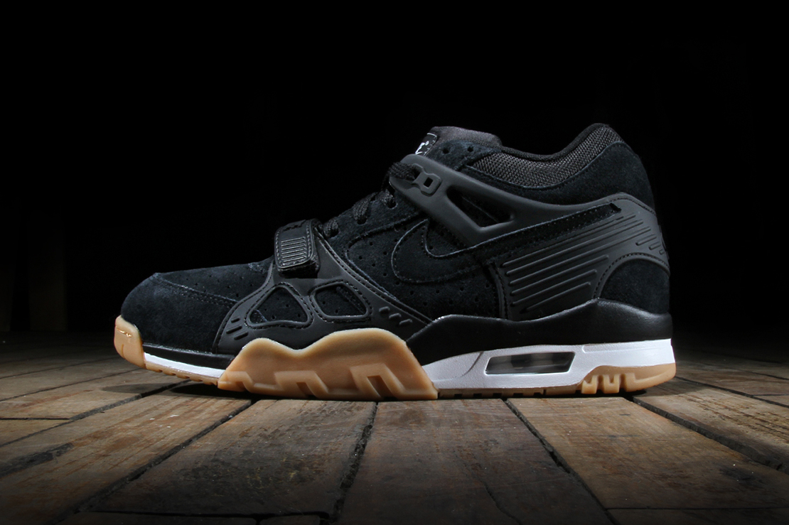 nike air trainer 3 black gum hypebeast. Black Bedroom Furniture Sets. Home Design Ideas