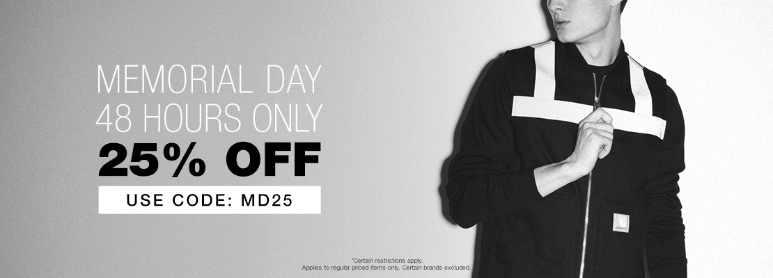 Enjoy 25% Off at the HYPEBEAST Store with code MD25