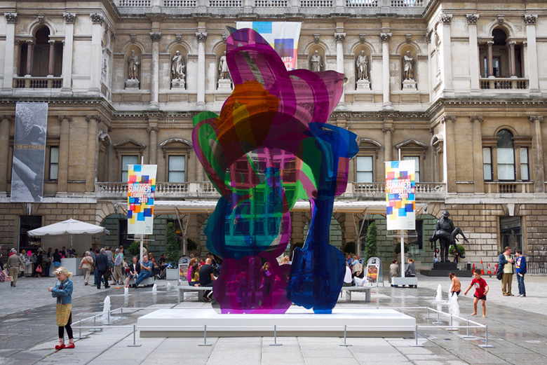 Jeff Koons Coloring Book Sculpture Sold For Over 13