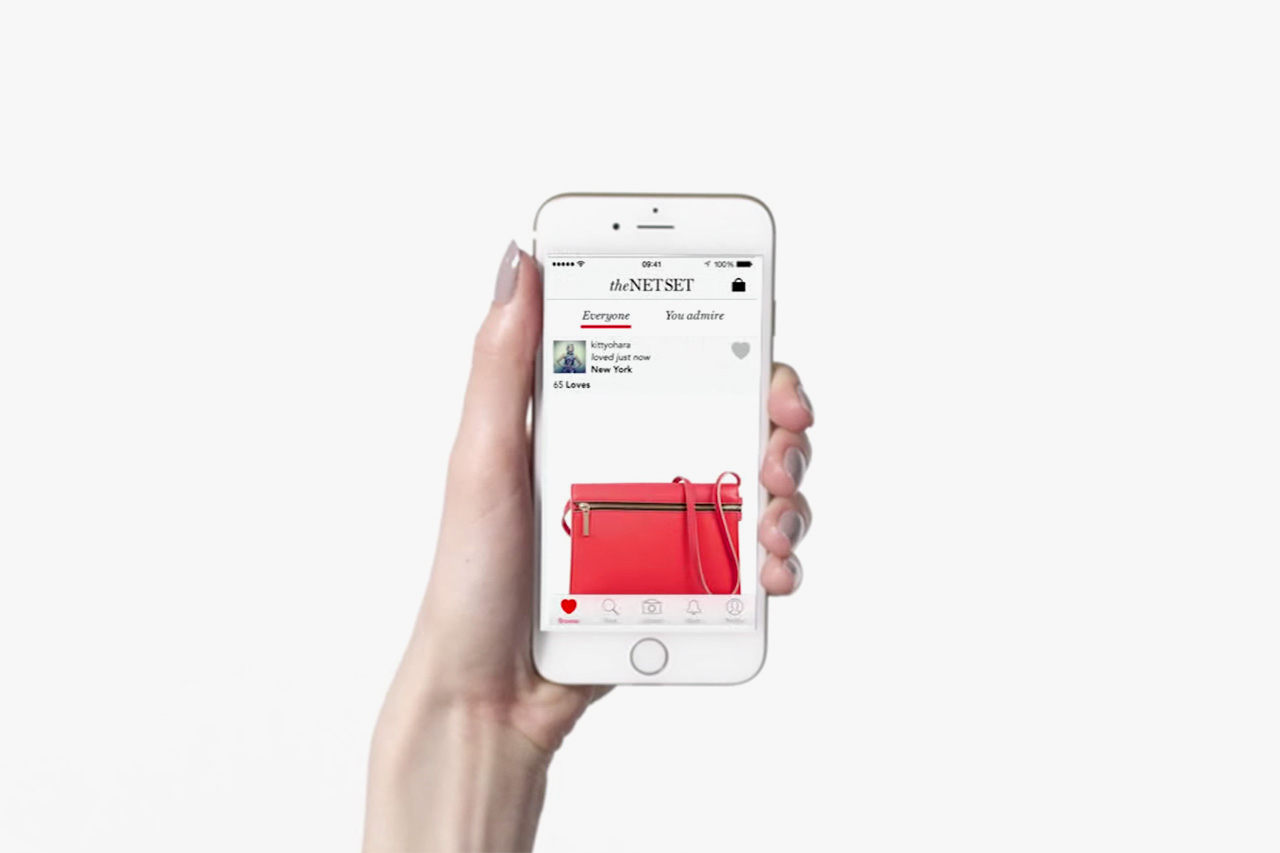 Net a porter unveils a social networking app for luxury for Net a porter