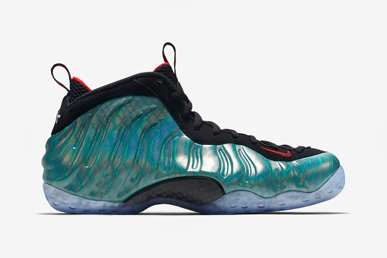 nike air foamposite one gone fishing hypebeast