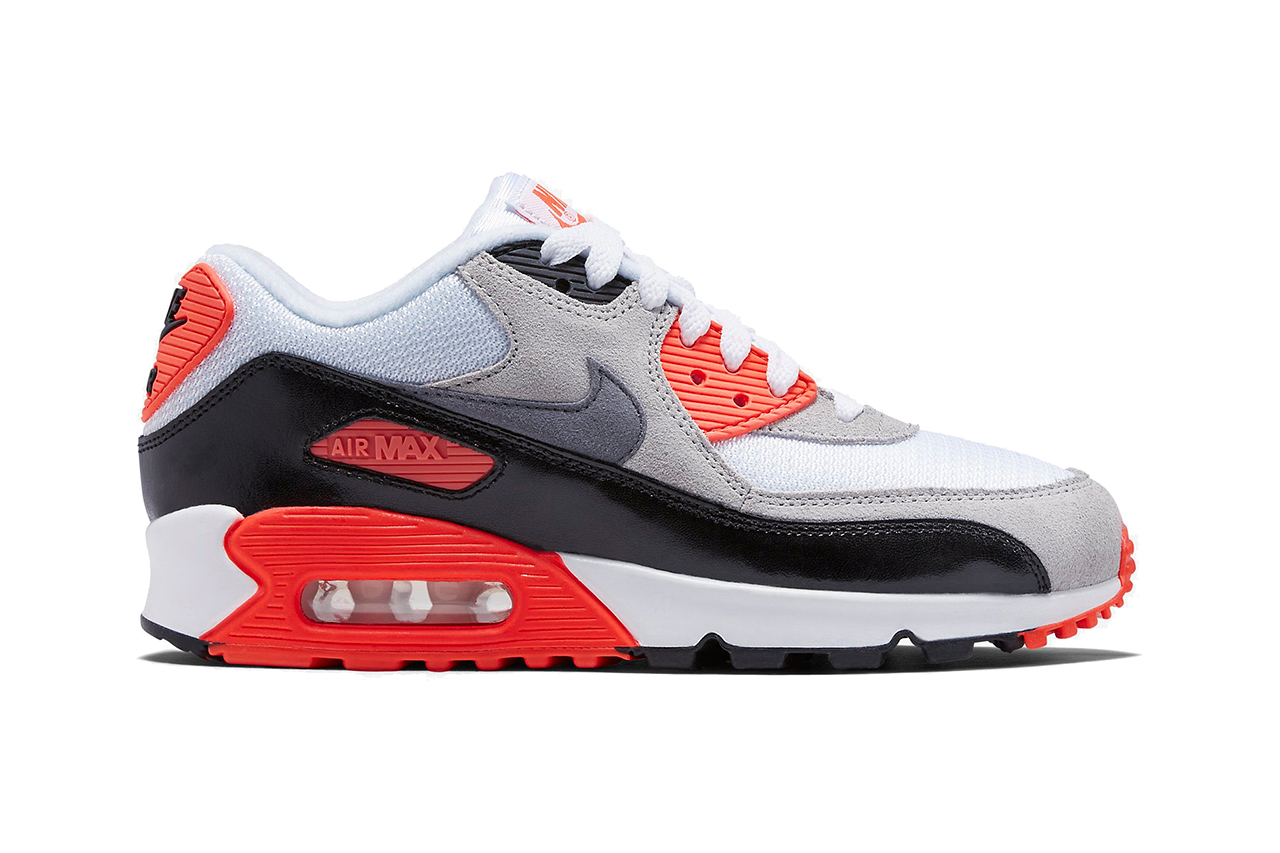 nike air max 90 infrared 2015 retro hypebeast