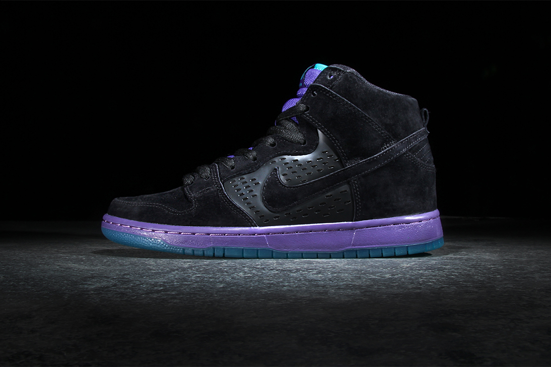 nike sb dunk high premium black grape hypebeast. Black Bedroom Furniture Sets. Home Design Ideas