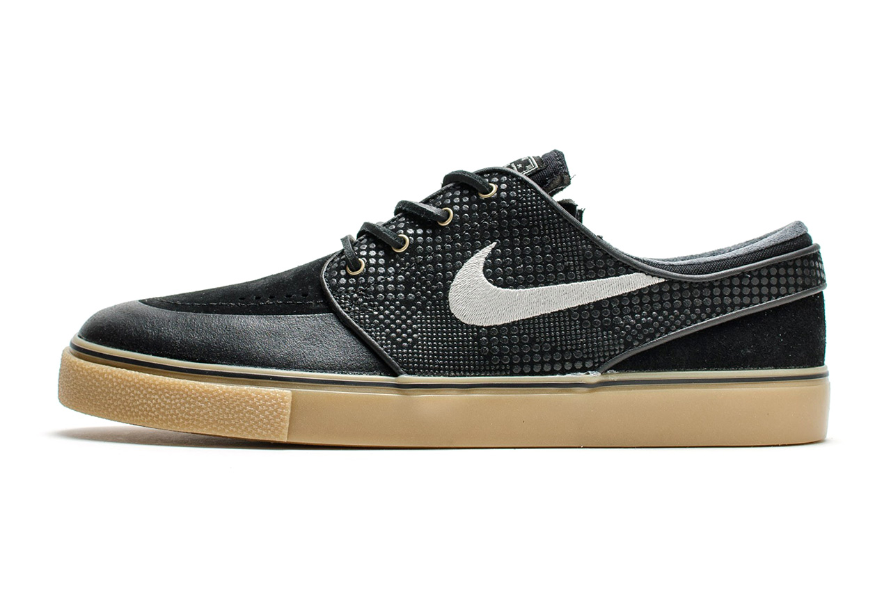 nike sb zoom stefan janoski premium black gum hypebeast. Black Bedroom Furniture Sets. Home Design Ideas