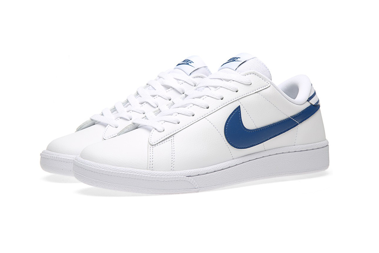 nike tennis classic cs white gym blue hypebeast
