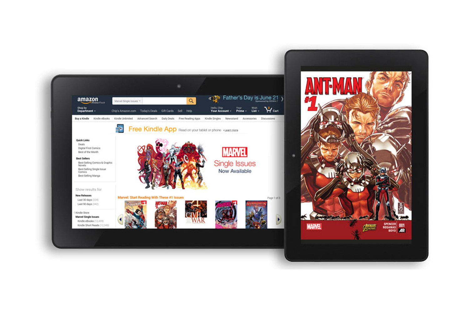 Amazon Brings Marvel Comics to the Kindle Store - photo#10