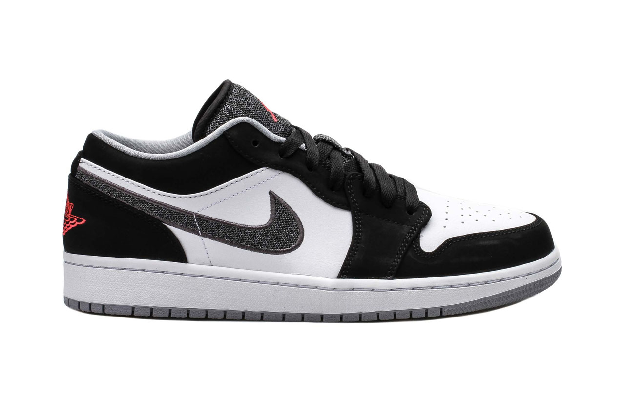 Air Jordan 1 Retro Low Black/Infrared \\u0026middot; Footwear