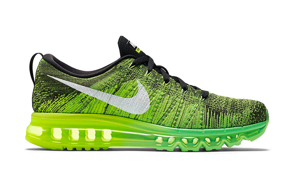 Nike Flyknit Air Max Voltage Green Beast