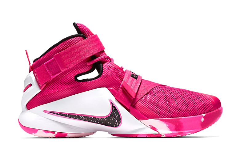 Nike LeBron Soldier 9  quot Think Pink quot    HYPEBEASTLebron Soldier 9