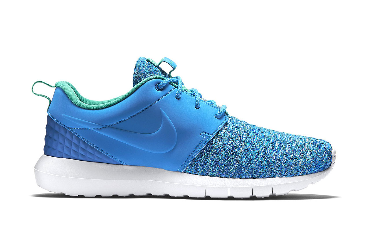 "Nike Roshe One Flyknit Premium ""Photo Blue"" 