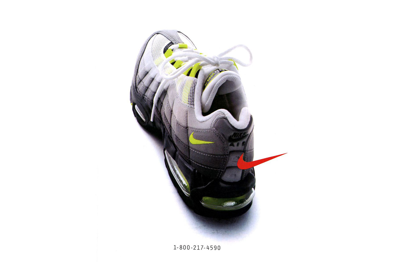 Nike Air Max 95  The Story Behind the Revolutionary Runner - Trapped ... e5d9997ce