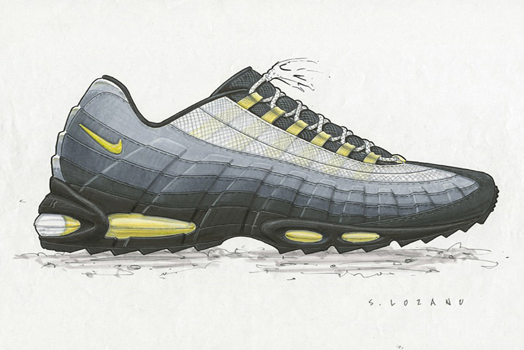 e5efef8cb27f5d Nike Air Max 95  The Story Behind the Revolutionary Runner - Trapped ...