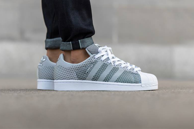 adidas originals superstar weave clear grey hypebeast. Black Bedroom Furniture Sets. Home Design Ideas