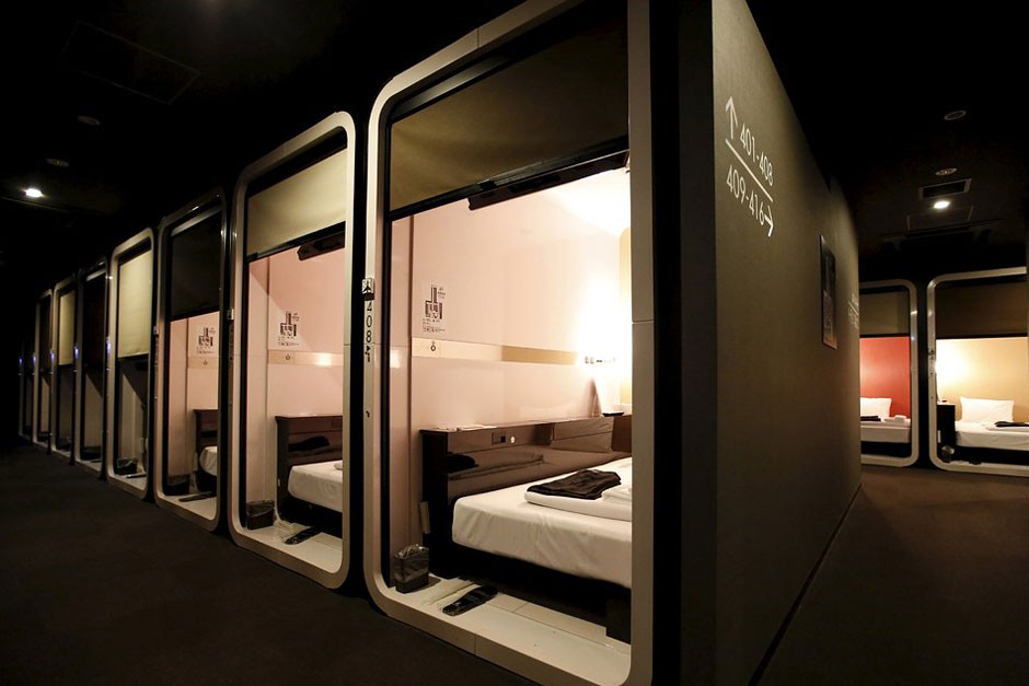 First cabin is a luxurious take on japanese capsule hotels for Design hotel japan