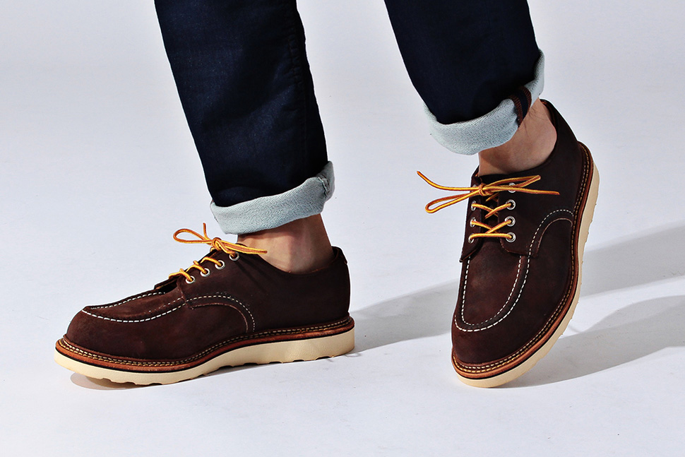 Free Easy Red Wing Work Oxford Shoes 2015 Fall Winter