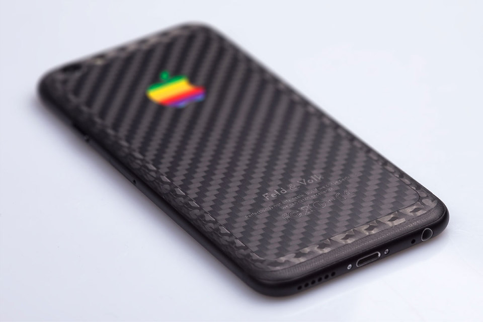 feld and volk custom double carbon iphone 6 hypebeast