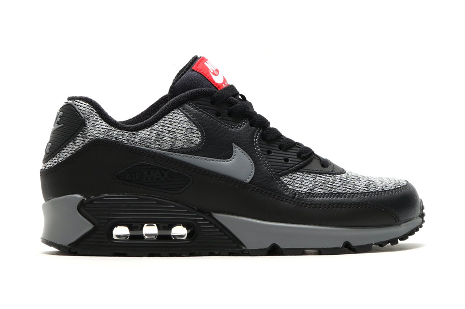 nike air max 90 black grey red bedroom