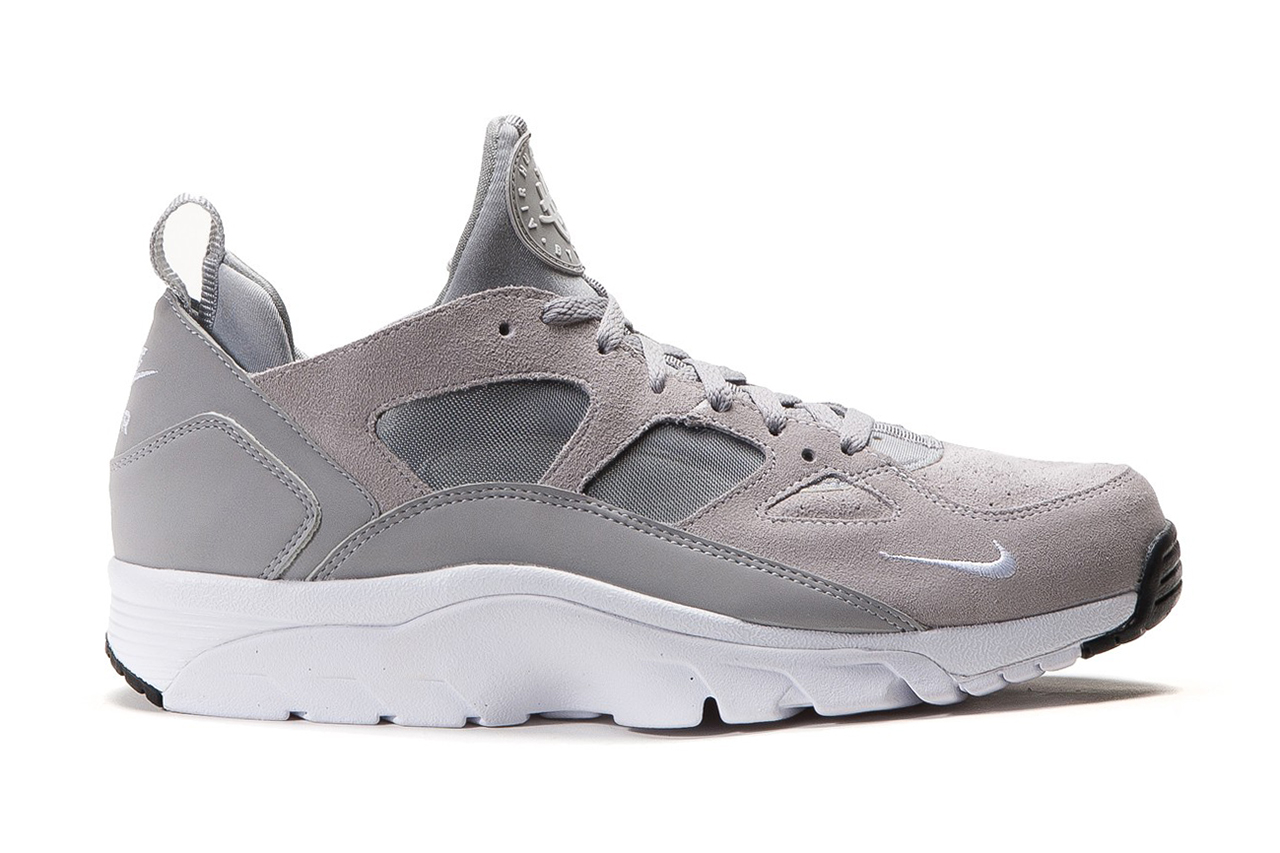 nike air trainer huarache low wolf grey hypebeast. Black Bedroom Furniture Sets. Home Design Ideas