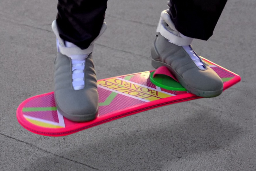 Back To The Future Hoverboard Commercial Hypebeast