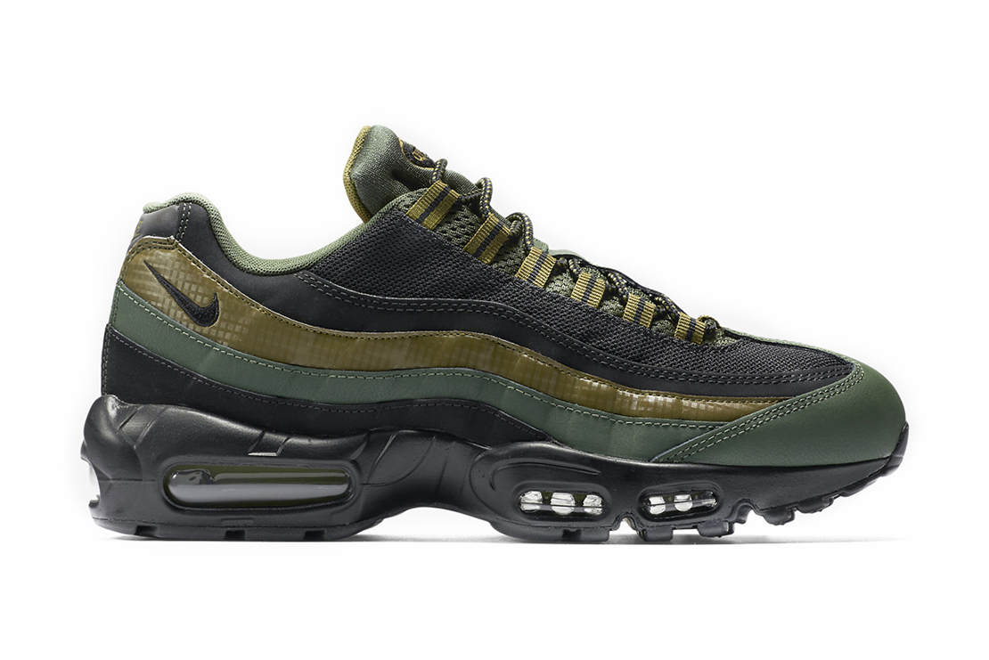 Nike Air Max 95 Black And Green
