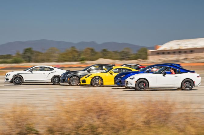 Watch 10 of the World's Fastest Cars Compete in a Massive ...